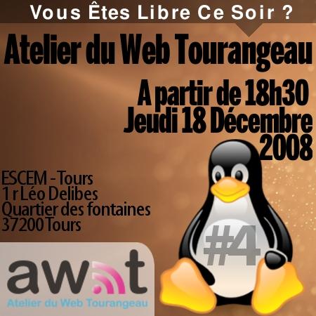 S'inscrire au prochain Atelier du Web Tourangeau