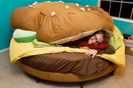 Cheeseburgerbed