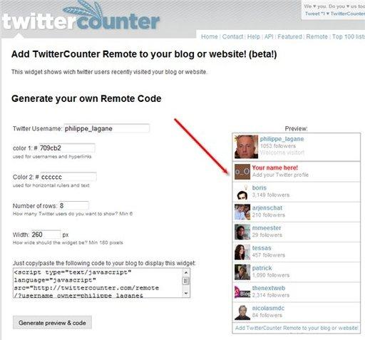 Twitter-remote
