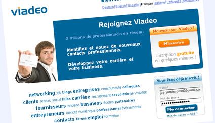 Viadeo-widget