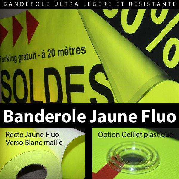 Banderole-fluo