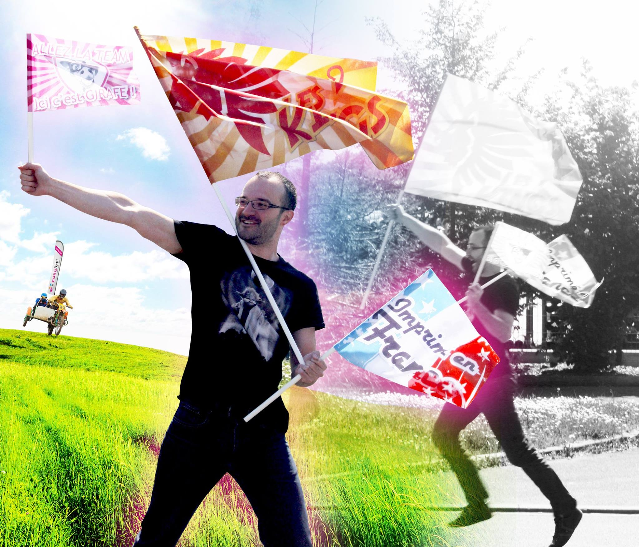 Impression-fanion-drapeau-supporter-personnalise